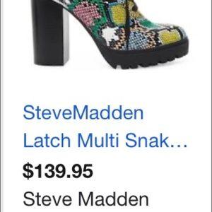 Steve Madden Rattle Snake Multi